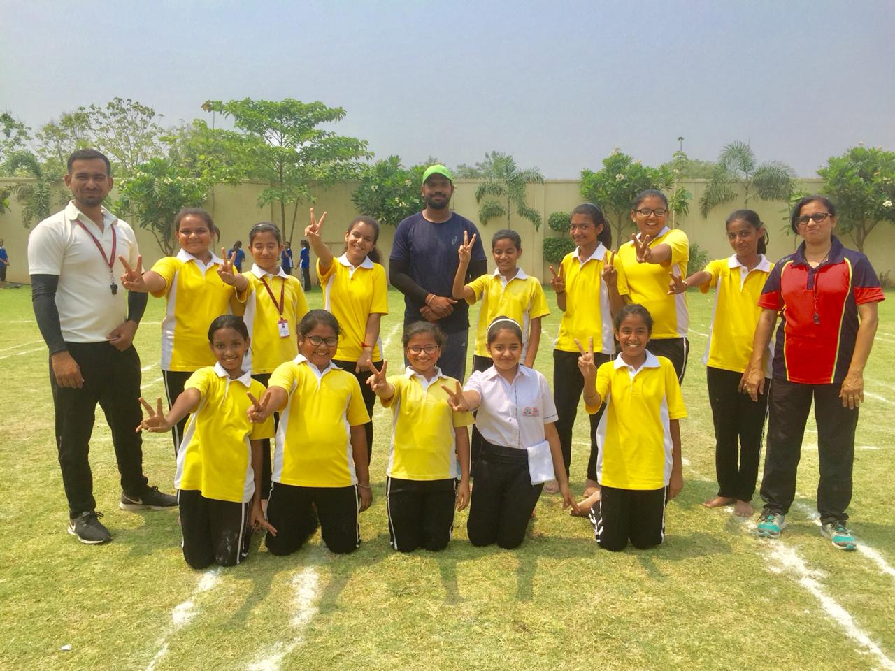 Inter School Kho-Kho Competition - SKS World School | Best School |